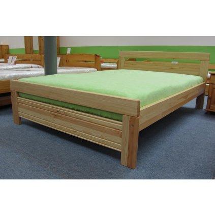 Manželská postel Savona Borovice