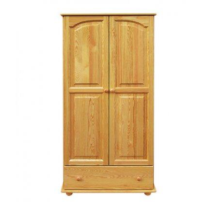 Šatní skříň 21- masiv borovice