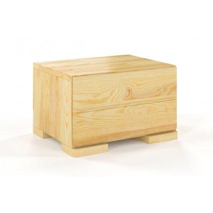 noční stolek z masivu borovice sandemo 1s borovice 1