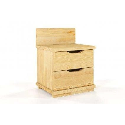 noční stolek z masivu borovice Arhus 2s borovice1