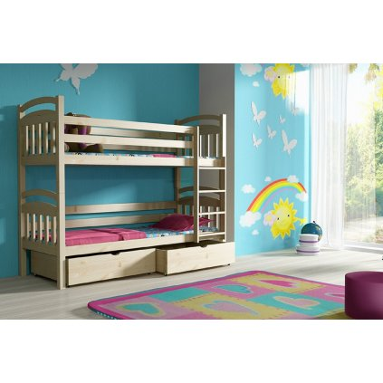 Dětská patrová postel Adaš