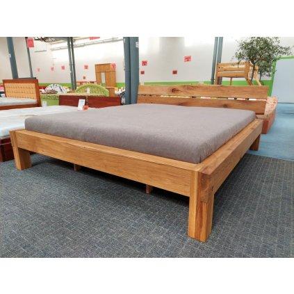 Dubová manželská postel Alto