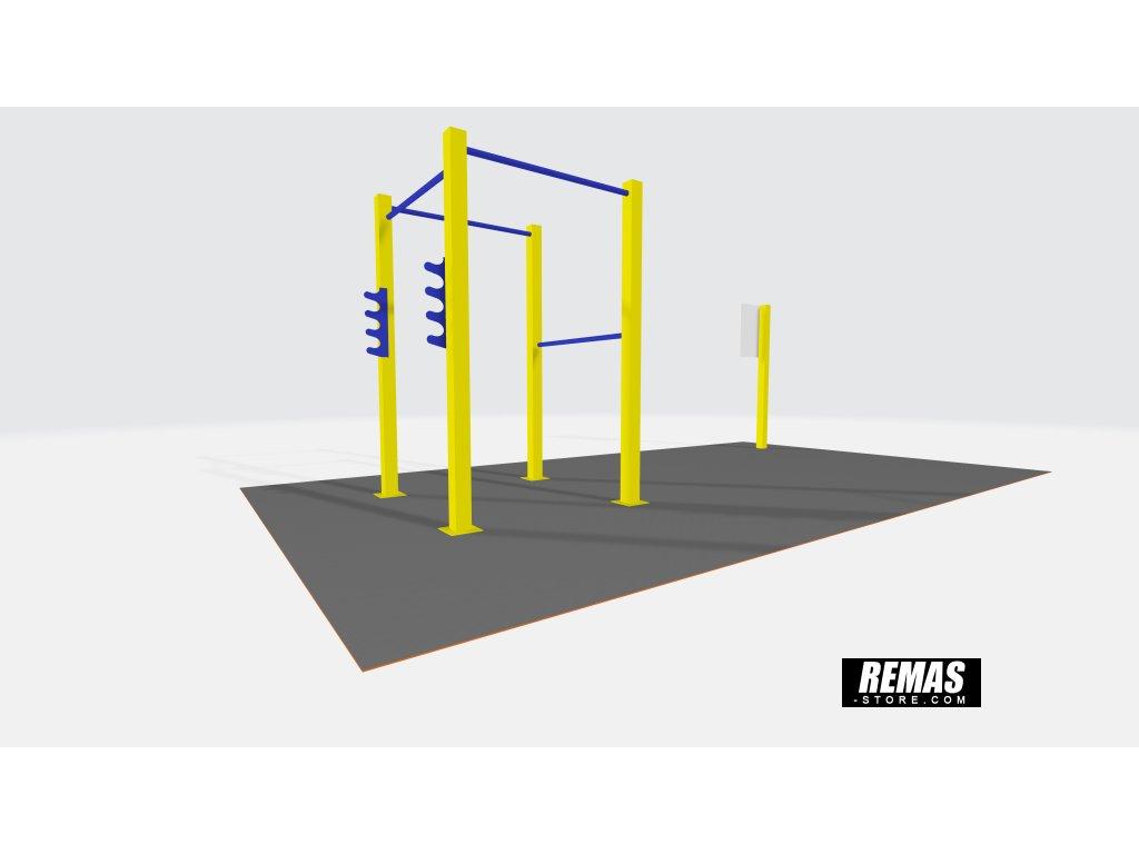 Remas Classic fitness kostka