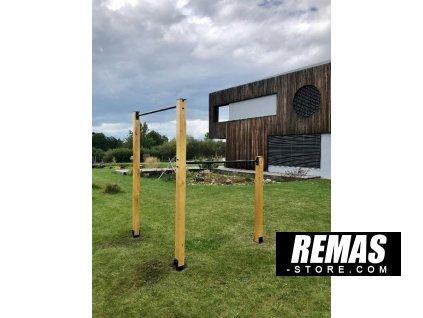 Remas double garden bar wood