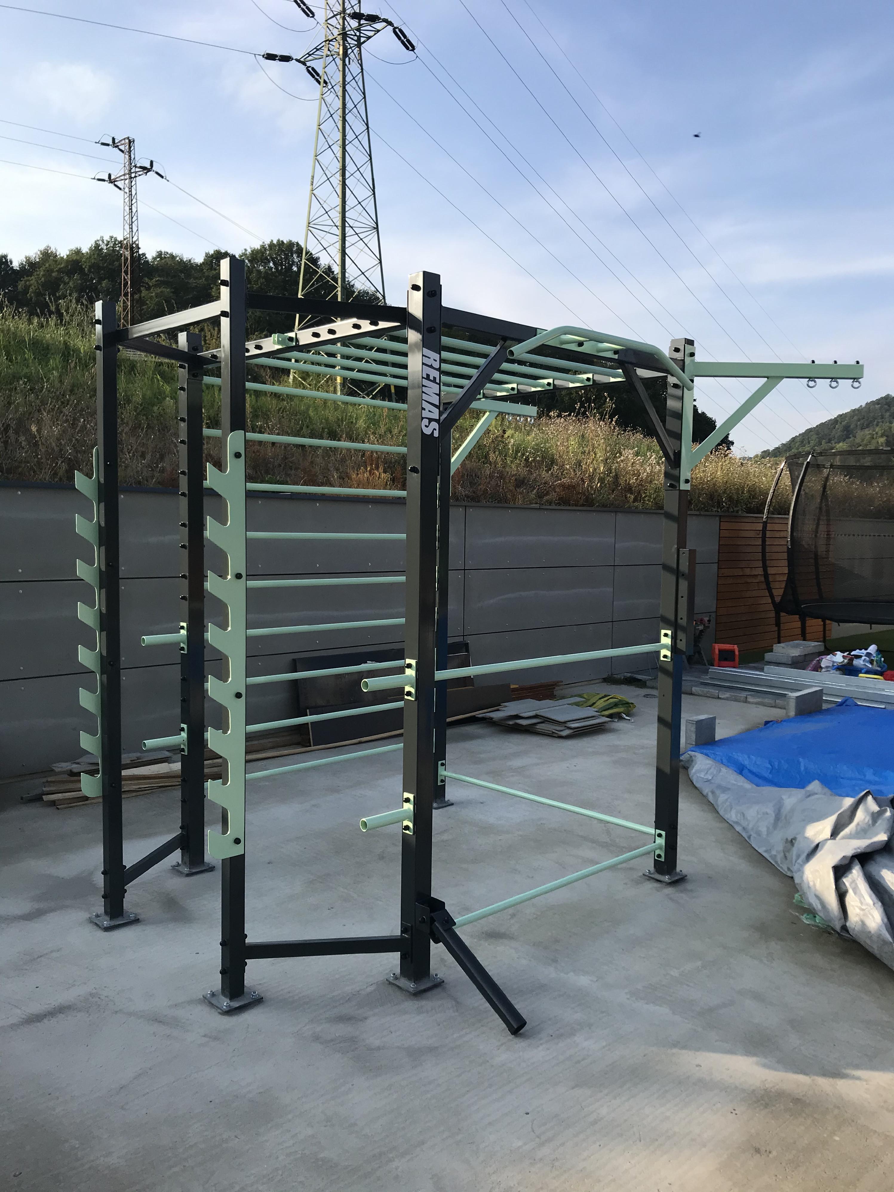 Remas™ - Fitness complex cube Montáž: Bez montáže a dopravy