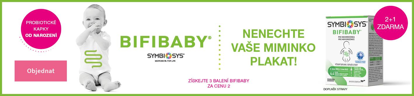 Bifibaby aby miminko neplakalo