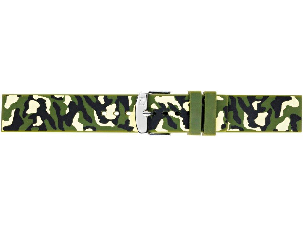 Silikonový řemínek Camouflage 4511187.070