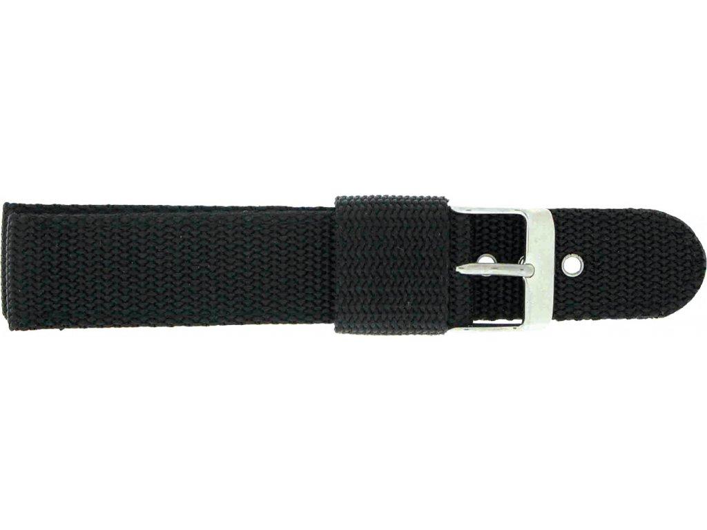 Textilní řemínek 112G.BLACK 112G.BLACK