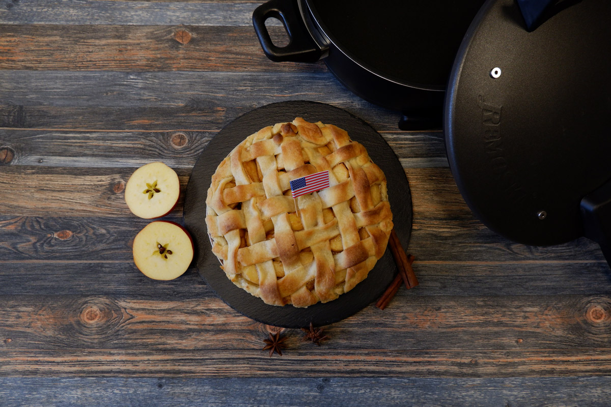 Tradičný americký jablkový koláč