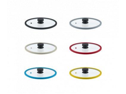 Remoska® Vega Skleněná poklice o průměru 28 cm (Barva Černá)