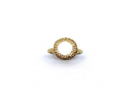 Prsten Aura 001pozlacený maly
