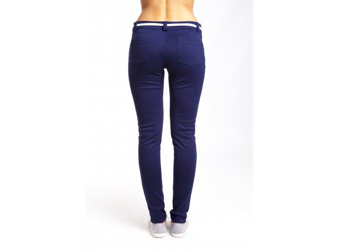 Nohavice pre vysoké ženy modré a červené