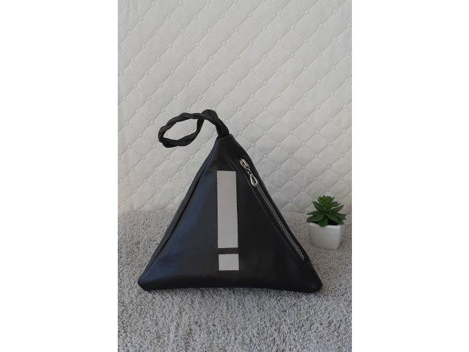 Trianglová kabelka Midi - s reflexným motívom