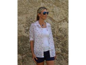 Dámska bavlnená košeľa s motívom námorník - Maritime