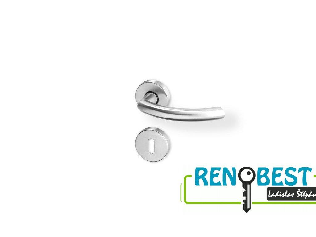 Dveřní kování GINA R nerez PK