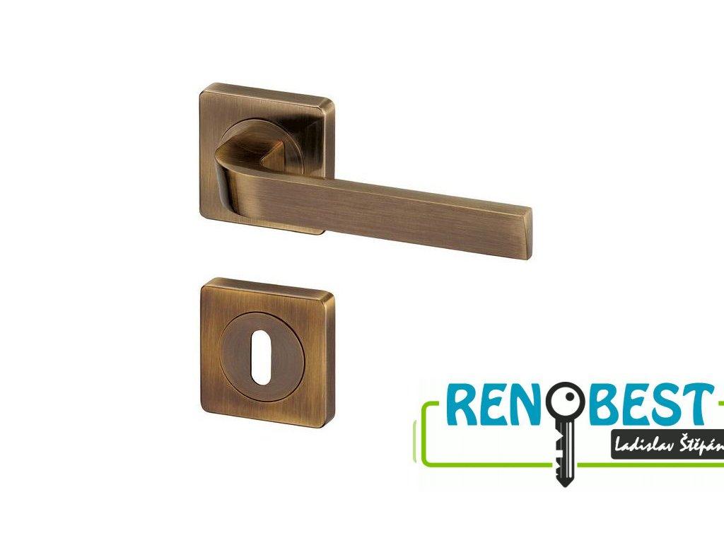 Dveřní kování HANNOVER R HR bronz
