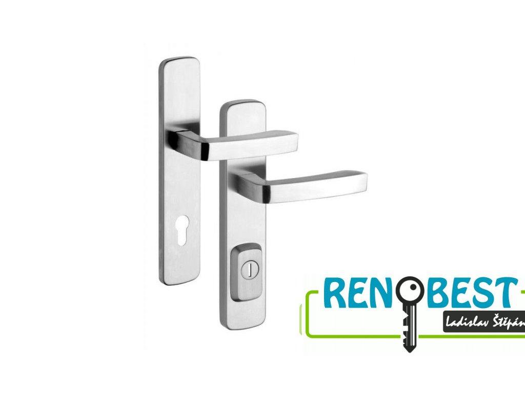 Bezpečnostní kování RX4/92 ASTRA pro profilové dveře