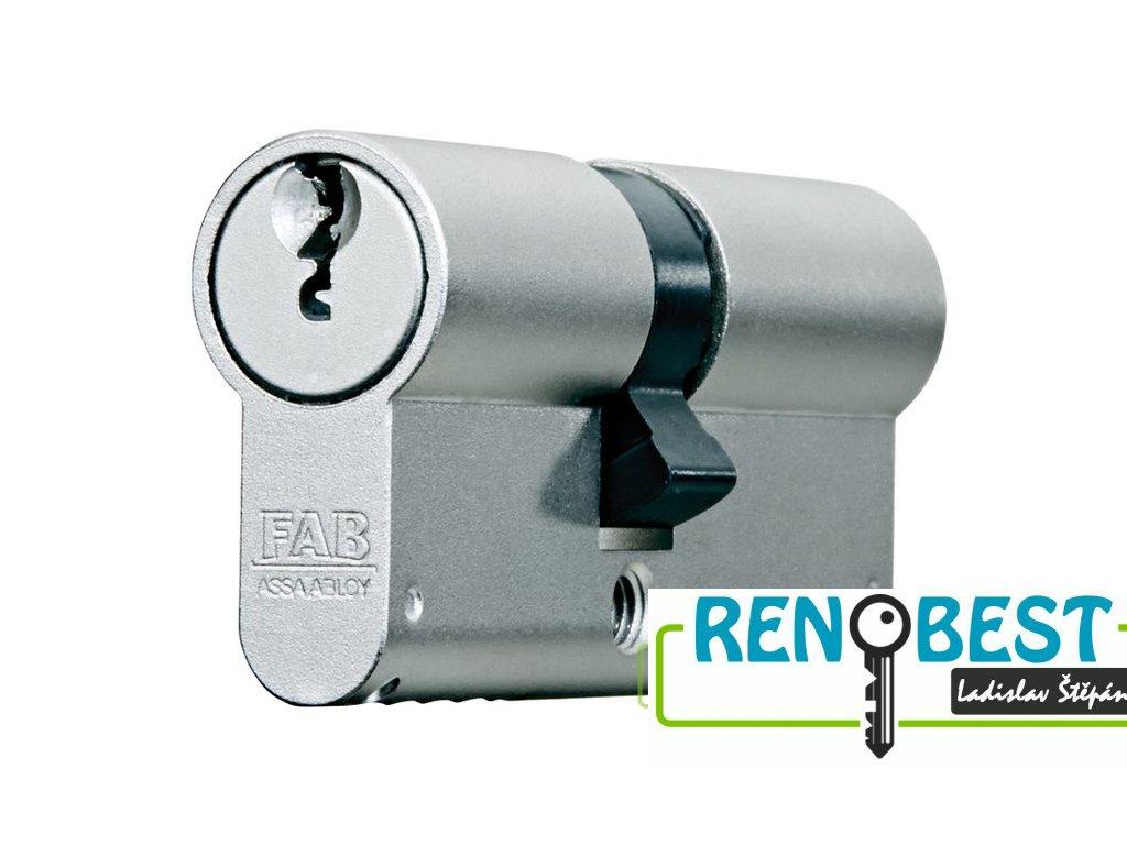Vložka cylindrická bezpečnostní FAB 2000 BDNs 50+prodloužení Ni