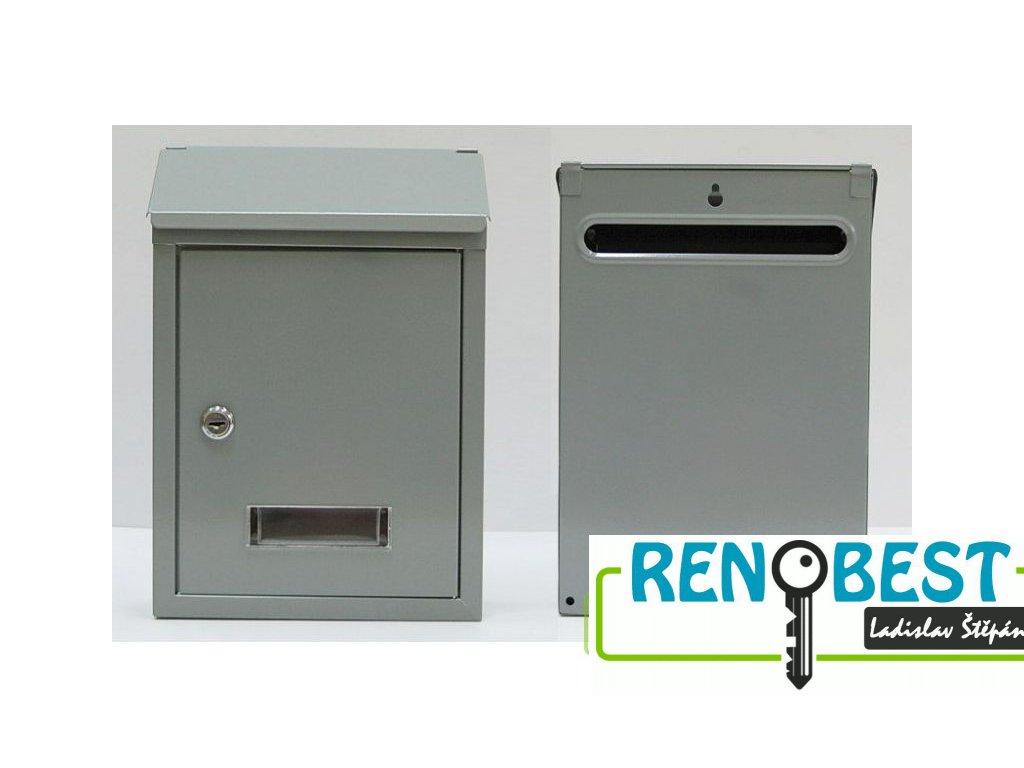 Poštovní schránka CT3 nerez
