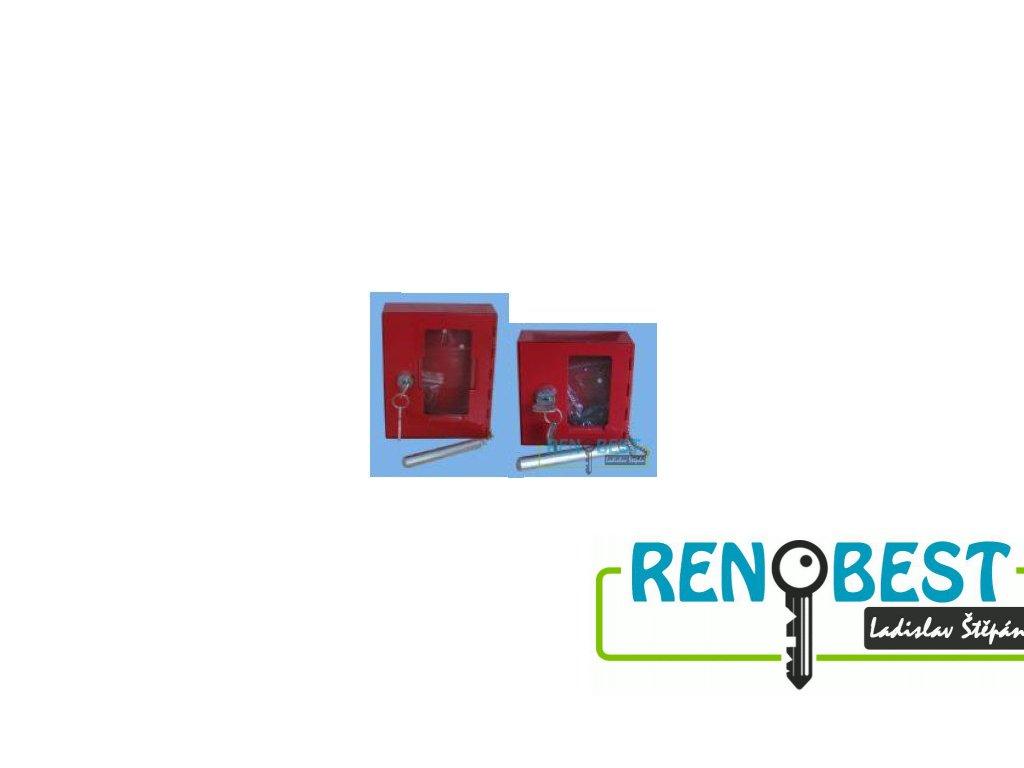 Požární krabička V 120x150x40 mm