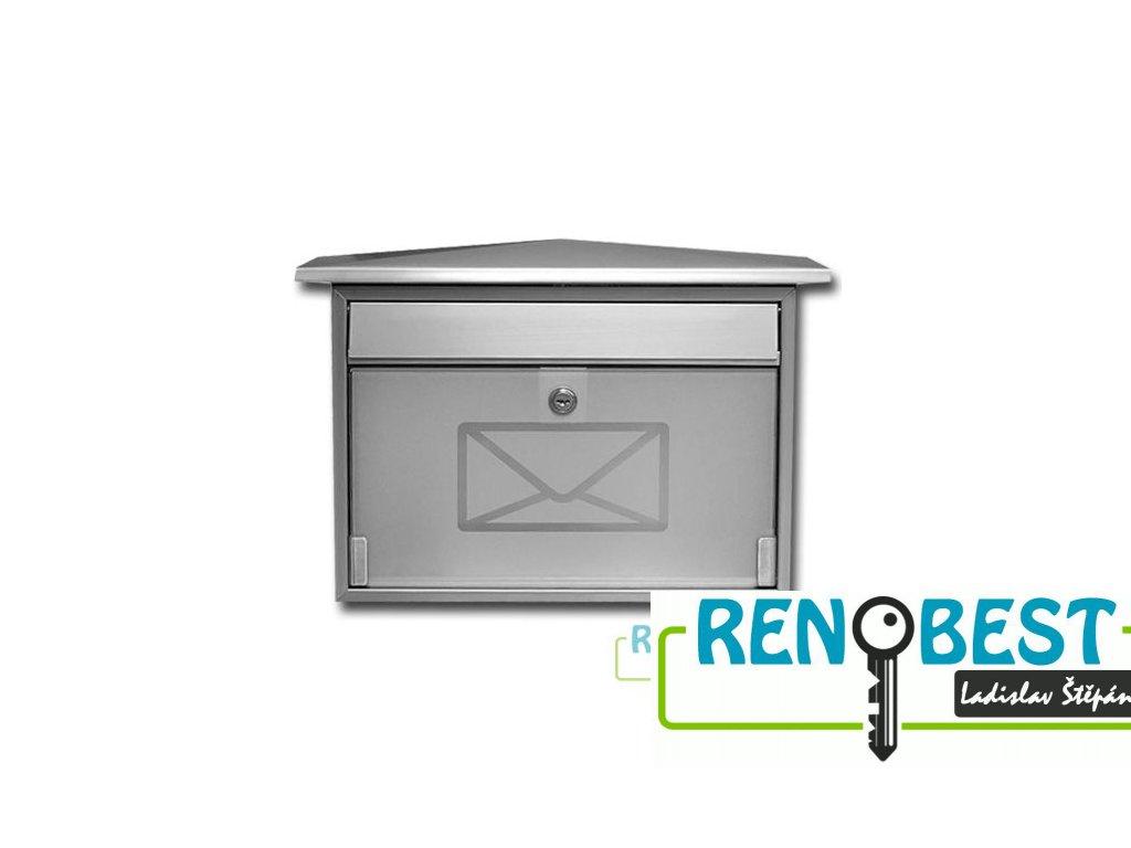 Poštovní schránka ROBIN se sklem
