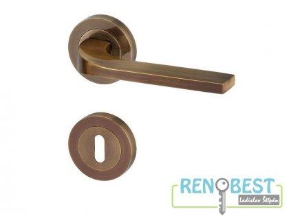 Dveřní kování ULM R bronz