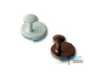 Stěnový háček kovový - čočka