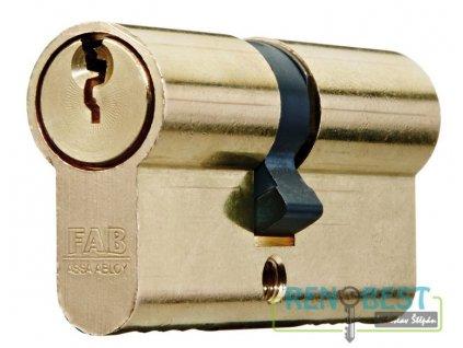 Vložka cylindrická bezpečnostní FAB 200 RSD 29+prodloužení Ms