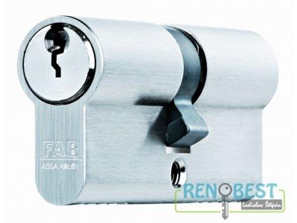 Vložka cylindrická bezpečnostní FAB 200 RSDN 29+prodloužení Ni