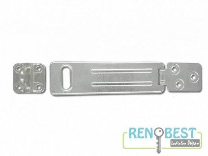 Petlice ocelová 150x45 mm BZn