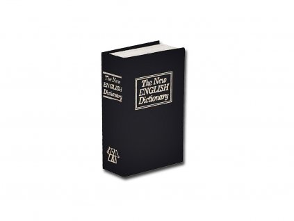 Trezor kniha, 180x115x54mm