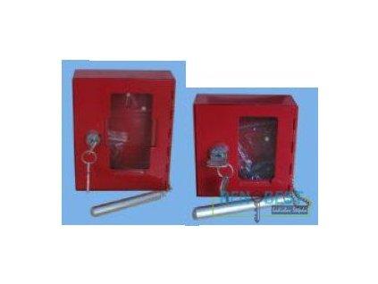 Požární krabička M 100x100x40 mm