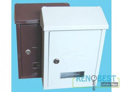 Poštovní schránka ERIK různé barvy