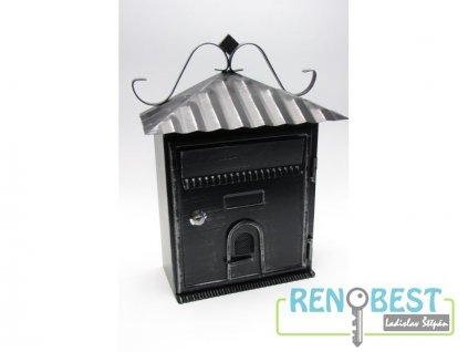 Poštovní schránka ALAN černá