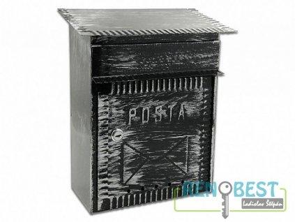 Poštovní schránka ROMAN černá