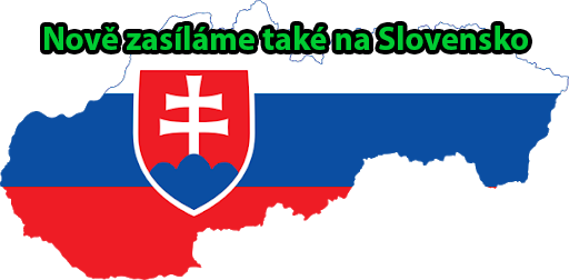 Nově zasíláme i na Slovensko