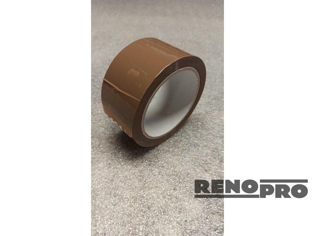 Lepící páska šíře 48 mm/ 66 m / hnědá