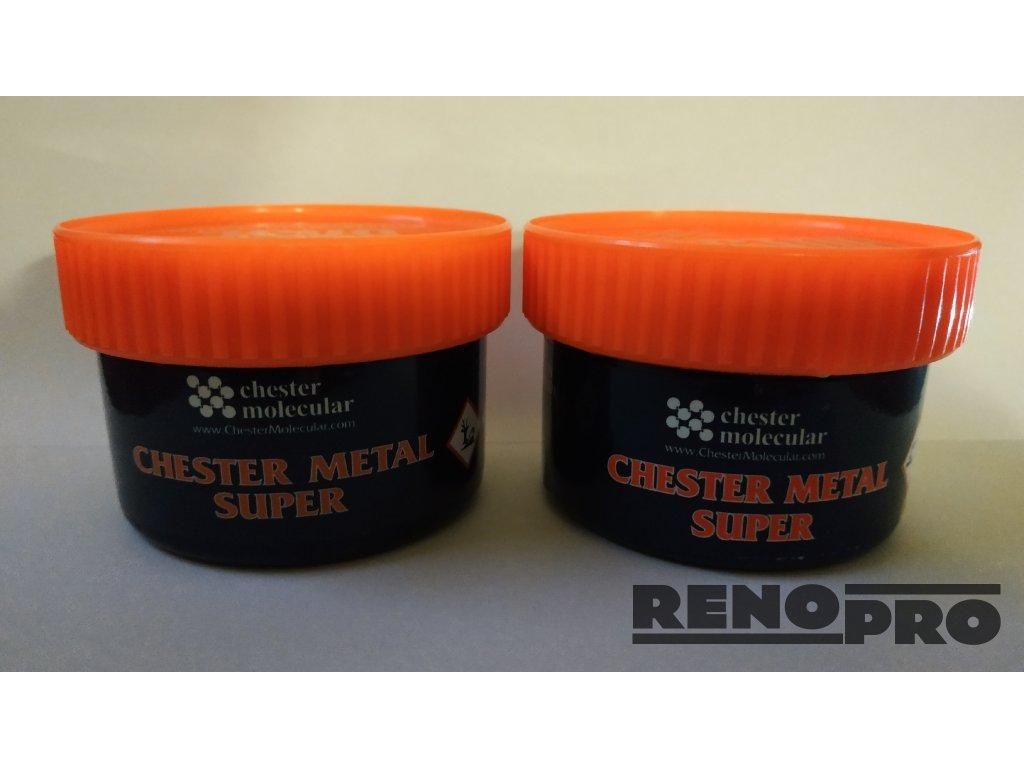 Chester Metal Super - opravný kovový tmel 0,25 kg
