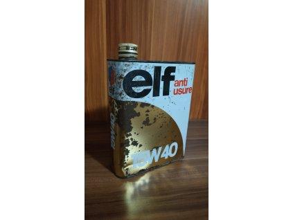 Plechovka od oleje elf