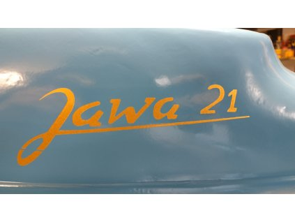 Šablona nápisu Jawa 21 - sada 3 ks