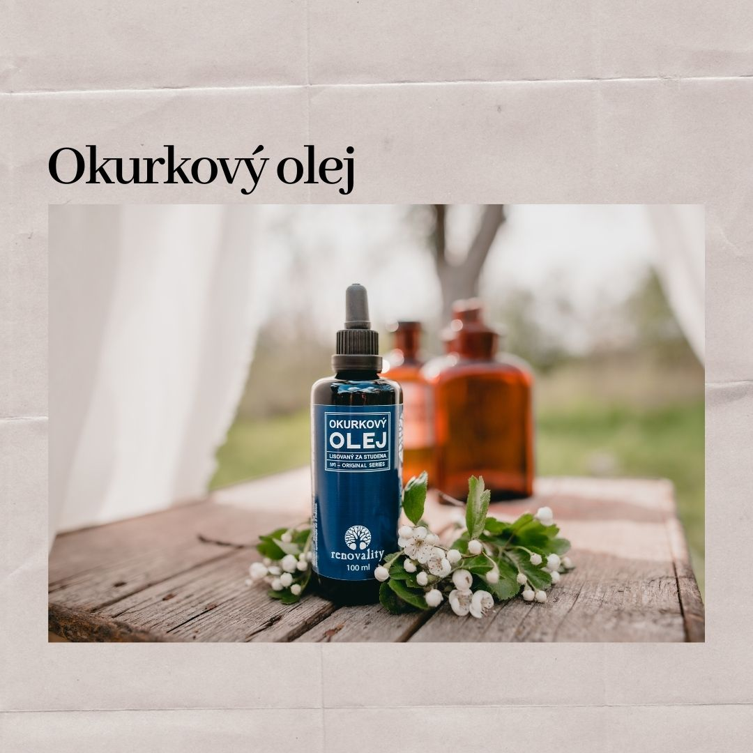 Okurkový olej