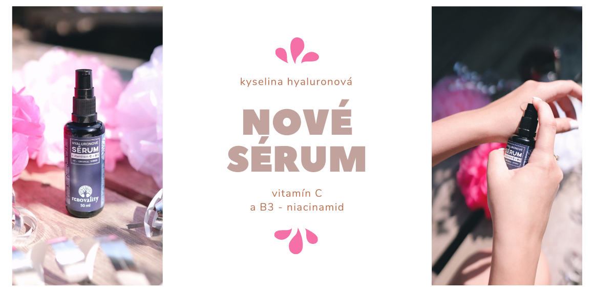 Hyaluronové sérum s vitamínom C a B3 50ml