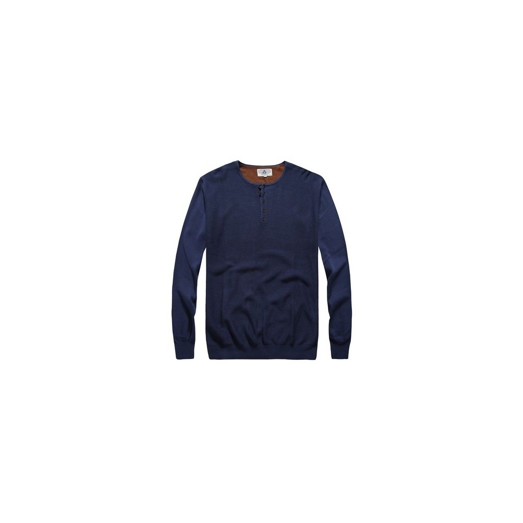 sweter meski samson niebieski