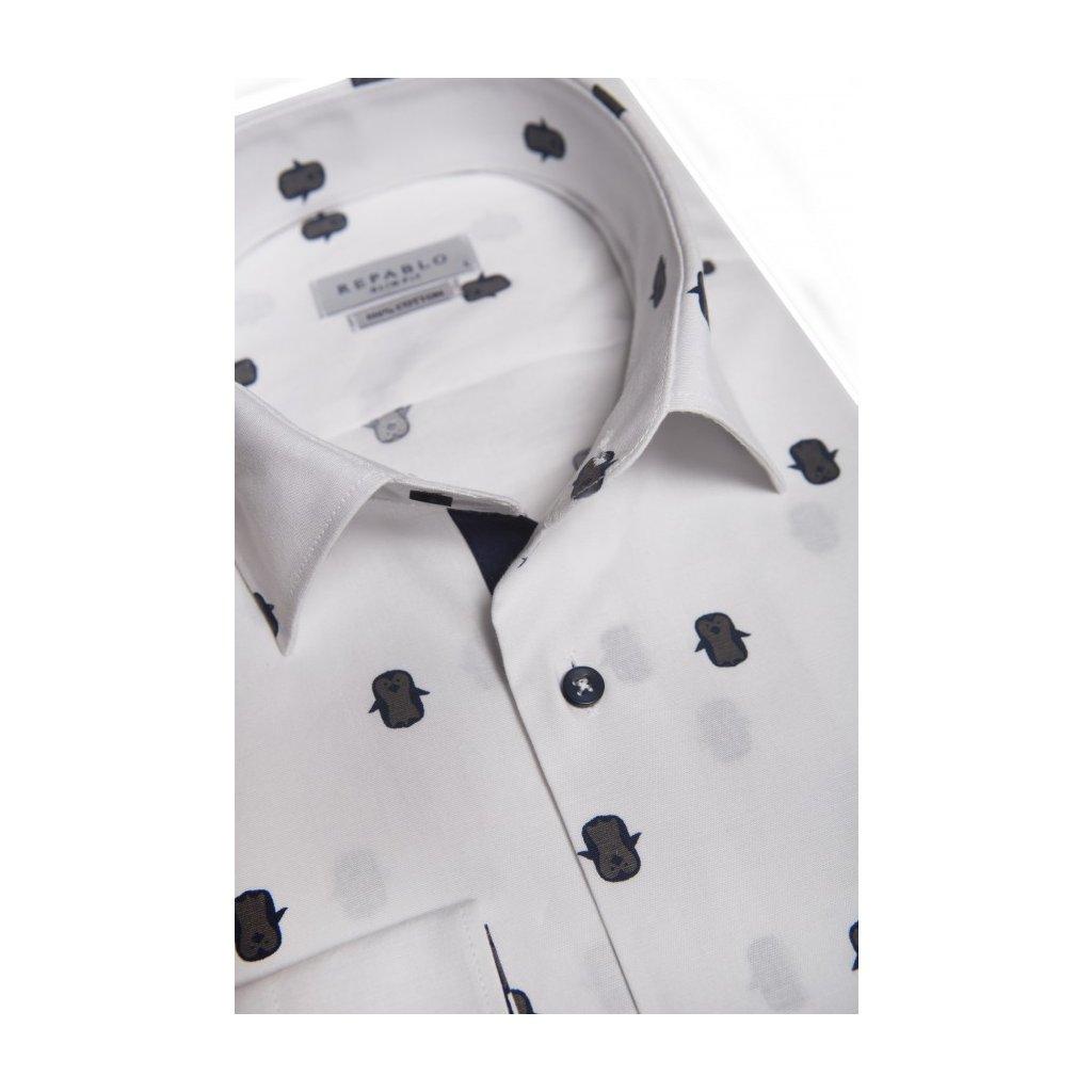 koszula pinguino biala