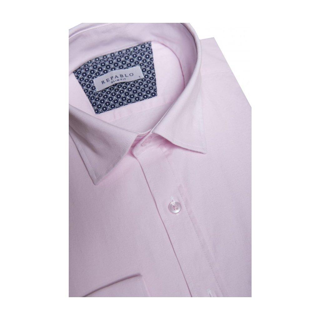 koszula comfort rozowa