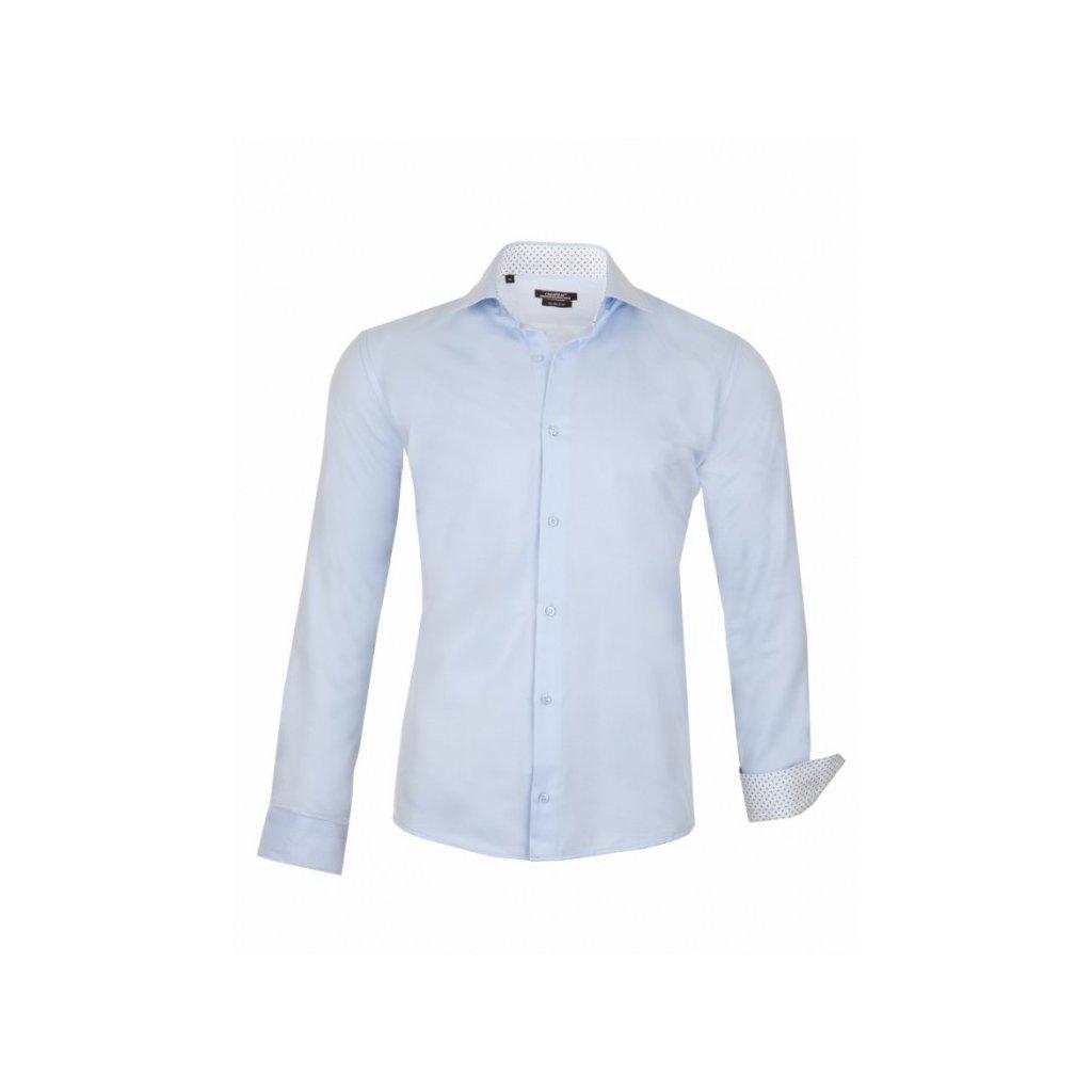 koszula meska david niebieska