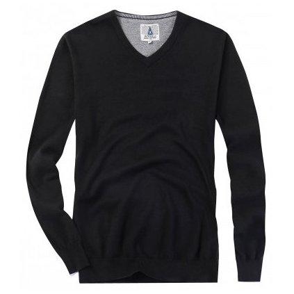 sweter meski serge czarny