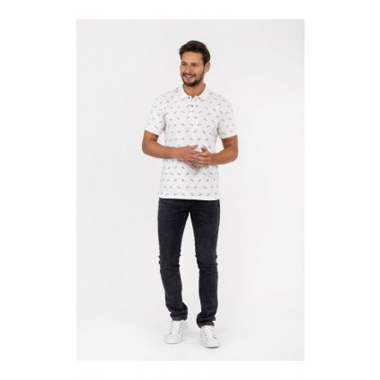 polo meskie sylwester biale