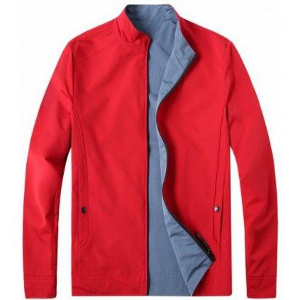 kurtka meska daniel czerwono niebieska