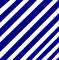 Modrobílý tenčí proužek